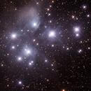 Messier M45 - Pleiades Seven Sisters Subaru Matariki,                                Geoff Scott