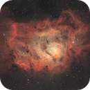 The Lagoon Nebula,                                Bret Waddington