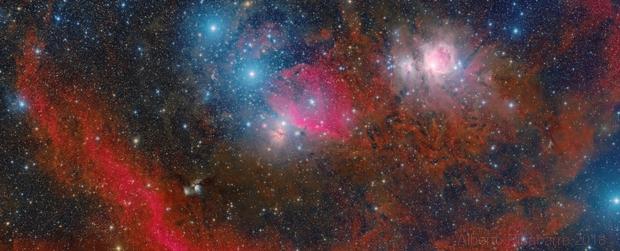 Wide Field - The Belt and Sword of Orion,                                Alberto Pisabarro