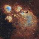 NGC 6334  CAT'S PAW NEBULA,                                Christian_Hilbert