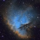NGC 281 - The Pacman Nebula in SHO,                                Trevor Gunderson