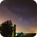 Rising of the Milky Way,                                Harold Freckhaus
