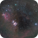 Orion Widefield with Comet,                                Poochpa