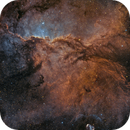 NGC 6188 from the ED80 lens!!!,                                Diego Colonnello