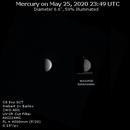 Mercury on 2020-05-25 -- My First Mercury Image,                                JDJ