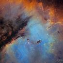 The Pacman Nebula, NGC 281, HRGB Image,                                Eric Coles (coles44)
