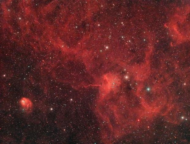 IC417 and NGC1931 in Auriga,                                Scott Tucker