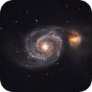 M51 - Whirlpool Galaxy,                                Muhammad Ali
