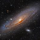 Andromeda Galaxy,                                Nicholas Bradley