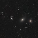 Markarian's Chain against a sea of galaxies,                                Lee