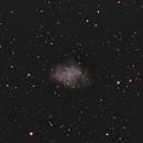 M1 Crab Nebula,                                Ryan Betts