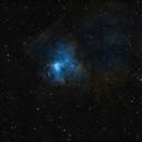 Sh2-206 / NGC1491 - The Fossil Footprint Nebula in Perseus - SHO,                                Daniel.P