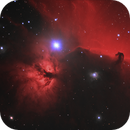 Horsehead and Flame Nebulae (Ha+LRGB),                                Scott Davis