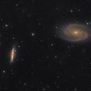 M81 and M82,                                Josh Woodward