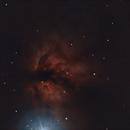flame nebula,                                adrian-HG