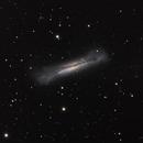 NGC 3628 - The Hamburger Galaxy [Leo] in L-RGB,                                G400