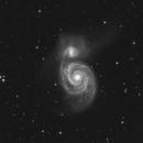 M51 (90 minutes),                                sky-watcher (johny)