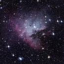 NGC 281 -  The PacMan nebula unmodified,                                Gendra