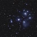 M45 - The Pleiades,                                Mark Hudson