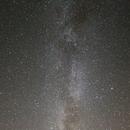 Notre Galaxie depuis l'Auvergne,                                Nicolas JAUME