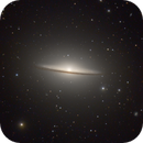 The iconic Sombrero Galaxy - M104, the first galaxy I ever imaged,                                Niall MacNeill