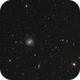 M85 and M 100 + Colourful Galaxy Friends Practicing Social Distancing,                                Sigga