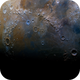 Moonscape featuring the Mare Imbrium,                                Manuel Huss