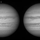Jupiter 3 december complete RGB set,                                Edwin Pottillius