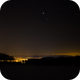 Jupiter and fog in the valley from my obsevation point,                                Thilo Frey