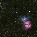 M20, Trifid nebula,                                pemag