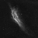 Never waste time of obervation ! California Nebula in H alpha - 42 minutes,                                Jérémie