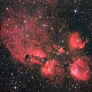 NGC6334 Cat's Paw Nebula,                                Kevin Parker