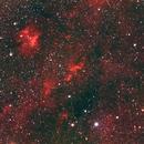 Sh2-134 Area, HaRGB,                                Stephen Garretson