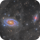 Bode's Galaxy and the Cigar Galaxy | M81 & M82,                                Connor Matherne