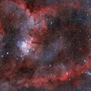 Heart Nebula in HOO,                                nerdybeardo