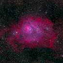 M8/Lagoon Nebula,                                hy