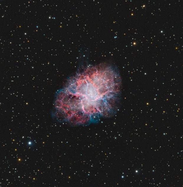 Crab Nebula,                                Vlad Onoprienko