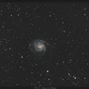 M101 - Galaxie du Moulinet - 21 Avril 2018,                                dsoulasphotographie
