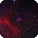 PK 080-10.1 (MWP1) and PN G79.8-10.2 (Alv1) in Cygnus,                                equinoxx