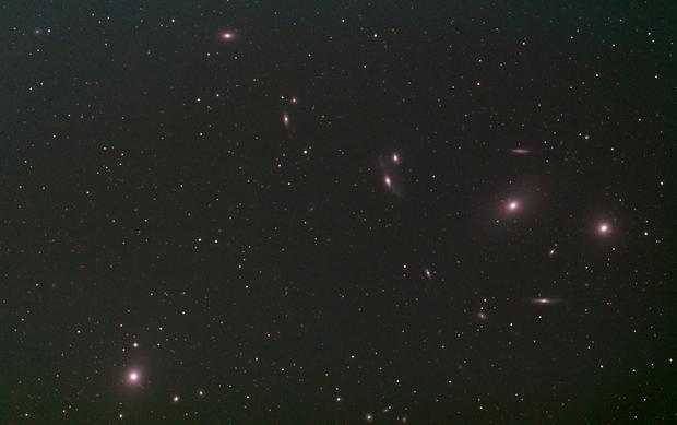 M86 - Virgo Cluster of galaxies (15 Mar 2020) - EAA,                                Bernhard Suntinger