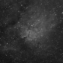 NGC6820 NGC6823 Ha,                                Станция Албирео