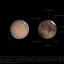 Mars 14 Jul 2018 - 3 min capture - annotated version,                                Seb Lukas
