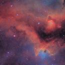 IC-1848 - The Soul Nebula,                                Rich Sky
