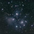 M45 - Pleiades all nighter,                                Matt Jenkins