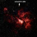 Carina Nebula and Nova ASASSN-18fv,                                Larry