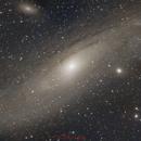 Andromeda galaxy - M31,                                rémi delalande
