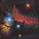 NGC 2023 Horsehead/Flame,                                Rhett Herring