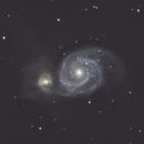 NGC 5194  The Whirlpool Galaxy (M51),                                GregZ