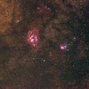 Lagoon and Trifid Widefield,                                GalaxyMike