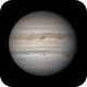 GRS Sets on Jupiter,                                Chappel Astro